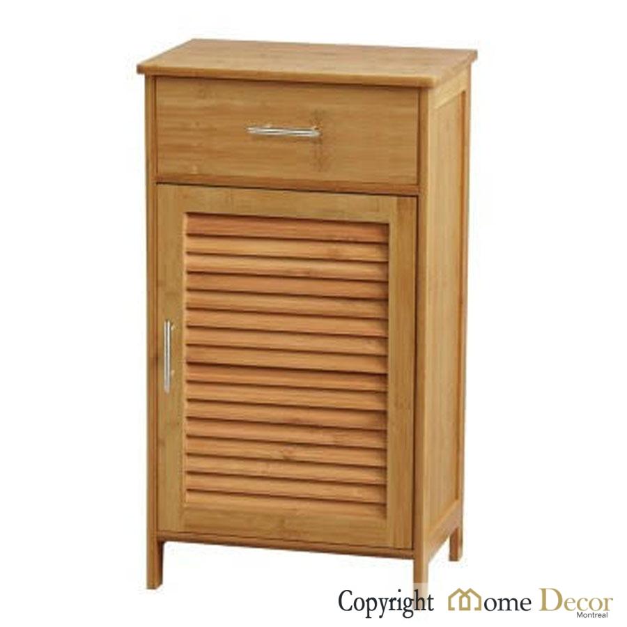 armoire en bambou avec porte d cor maison montr al. Black Bedroom Furniture Sets. Home Design Ideas